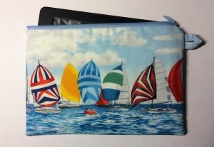 Maritime E-Reader Tasche oder flache Allzwecktasche - Handarbeit kaufen
