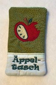 Äppel-Tasch, die außergewöhnliche Handy/Smartphone Tasche - Handarbeit kaufen