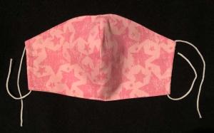 Mund- und Nasenmaske aus Baumwolle   -   KEIN  VIRENSCHUTZ - Handarbeit kaufen