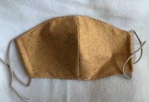 Mund- und Nasenmaske aus Baumwolle   -   KEIN  VIRENSCHUTZ