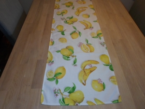 Tischläufer *Limone* Baumwolle 138x38 cm von friess-design - Handarbeit kaufen