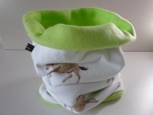 Kinder-Loop Schal Schlauchschal *Cavallino* von friess-design  - Handarbeit kaufen