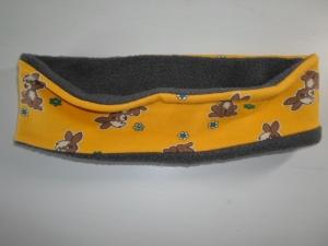 Kinder-Stirnband *Lepre* Baumwolljersey 46-52cm von friess-design  - Handarbeit kaufen