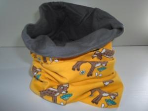 Kinder-Loop Schal Schlauchschal *Bambi* von friess-design  - Handarbeit kaufen