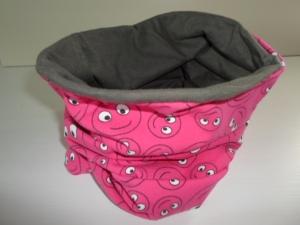 Kinder-Loop Schal Schlauchschal *Ridere* pink von friess-design - Handarbeit kaufen
