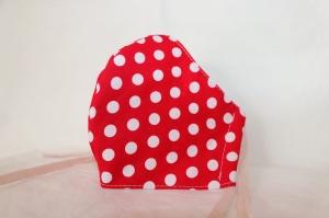 Mundmaske Nasenmaske Behelfsmaske aus Baumwolle von friess-design    - Handarbeit kaufen