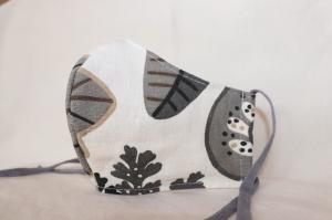 Mundmaske Nasenmaske Behelfsmaske aus Baumwolle/ Leinen von friess-design