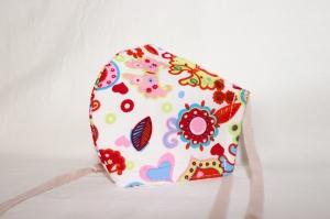 Mundmaske Nasenmaske Behelfsmaske aus Baumwolle von friess-design