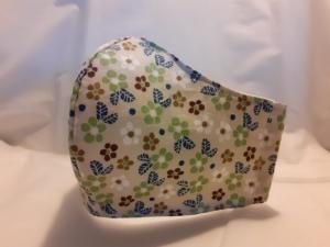 Mundmaske Nasenmaske Behelfsmaske aus Baumwolle -klein- von friess-design