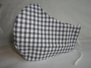 Mundmaske Nasenmaske Behelfsmaske aus Baumwolle/ Leinen für den Herren von friess-design