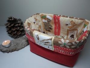 Utensilo *Natale* Baumwolle rot von friess-design  - Handarbeit kaufen