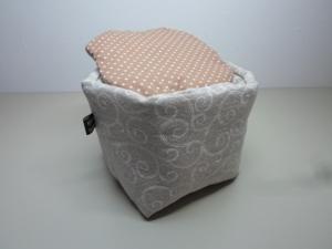 Eierkörbchen/ Eierwärmer *Appia Antica* Baumwolle mit Deckel nach Wahl von friess-design   - Handarbeit kaufen