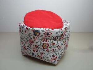 Eierkörbchen/ Eierwärmer *Fiori* Baumwolle mit Deckel nach Wahl von friess-design   - Handarbeit kaufen