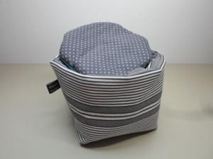 Eierkörbchen/ Eierwärmer *Colosseo* Baumwolle mit Deckel nach Wahl von friess-design