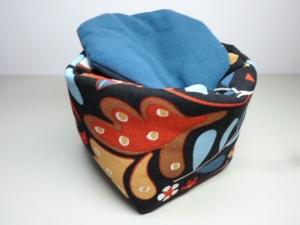 Eierkörbchen/ Eierwärmer *Astratto* Baumwolle mit Deckel nach Wahl von friess-design   - Handarbeit kaufen