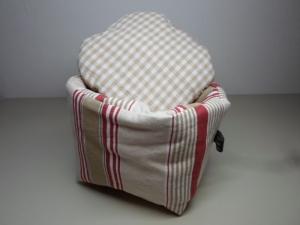 Eierkörbchen/ Eierwärmer *Viticcio* Baumwolle mit Deckel nach Wahl von friess-design