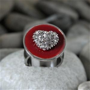 Ring für Verliebte an Valentinstag - individualisierbar - Handarbeit kaufen