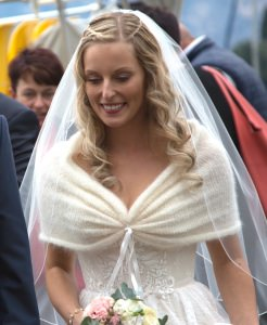 NEU! Stola ♥ WEDDING♥ creme!