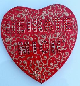 Acrylbild HEIRATE MICH Herz Valentinstag GeschenkHeiratsantrag Collage Herzbild auf Keilrahmen  Sprüche Liebeserklärung Geschenk für Verliebte Verlobung - Handarbeit kaufen