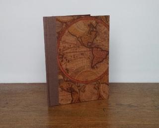 Sammelmappe A4 Motiv Antike Welt, mit Gummiband