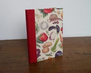 Rezeptbuch Gemüse mit Register für verschiedene Kategorien