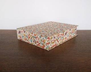 Schachtel A4 Florentiner mit Klappdeckel, bezogen mit Original Florentinerpapier