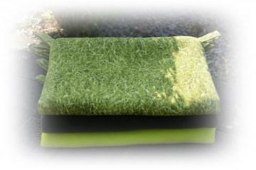 Hängematte 30x40cm Gras für Meerschweinchen