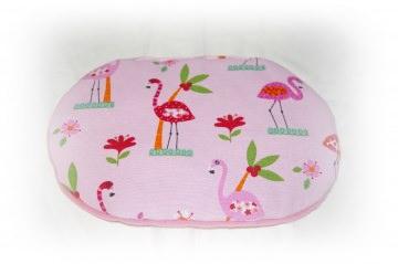 Ersatzkissen für Kuschelkörbchen/ Kuschelbett  ♥ Rosa Flamingo ♥