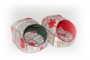 Kuschelhütte ♥ Weihnachts-Patch ♥ für Meerschweinchen