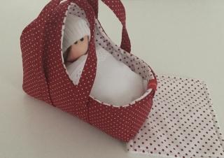 Puppentragetasche für kleinen Puppenmamas Miniatur Dekoration