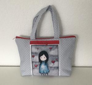 Shopper für kleine Ladies mit wunderschönem Motiv