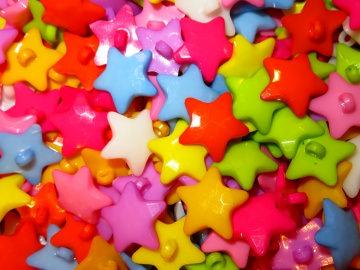 10 bunte Kinderknöpfe Ösenknöpfe Sterne Star Knöpfe zum Basteln und nähen  (Kopie id: 30834) (Kopie id: 30849) (Kopie id: 30854) (Kopie id: 30861) - Handarbeit kaufen