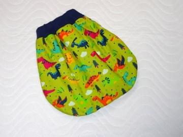 Puppenkleidung Schlafsack Strampelsack Pucksack ca. 40-49 cm  von KaPuMo - Handarbeit kaufen