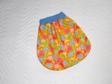 Puppenkleidung,  Schlafsack, Strampelsack ca. 30-39 cm  von KaPuMo - Handarbeit kaufen