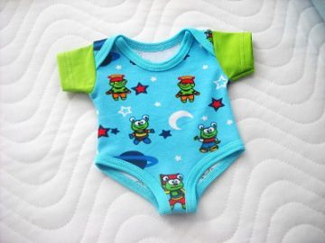 Puppenkleider Body Unterwäsche für Jungs ca. 43 cm  - Handarbeit kaufen
