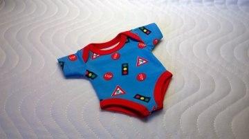 Handgemachter Body Unterwäsche für Puppen Jungs ca. 30-33cm   - Handarbeit kaufen