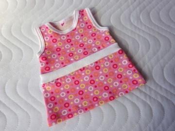Handgemachtes Sommerkleid, Kleid für Puppen ca. 43 cm  - Handarbeit kaufen