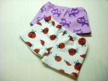 2 Handgemachte Slip, Unterhose, Panty, Unterwäsche für Puppen gr. 32-33 cm  - Handarbeit kaufen