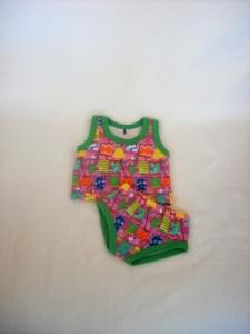 Handgemachte Puppenkleider Unterwäsche Hemd & Slip von KaPuMo ca. 43 cm - Handarbeit kaufen