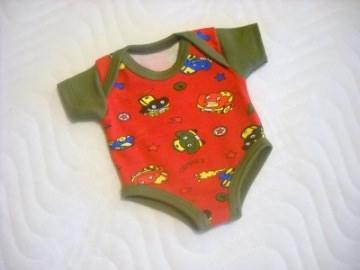 Handgemachter Body Unterwäsche für Puppen Jungs ca. 46-48 cm