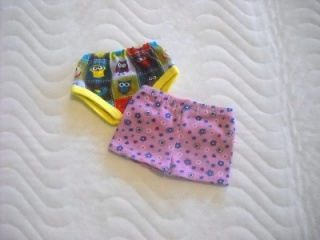 Unterwäsche für Puppen 2 Slip, Unterhosen, Panty ca. 43 cm  - Handarbeit kaufen