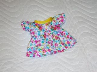 Handgemachtes Baumwolle, Sommerkleid für Puppen ca. 26-27cm   - Handarbeit kaufen