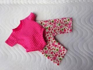 Handgemachte Hose & Body für Puppen ca. 43cm  - Handarbeit kaufen