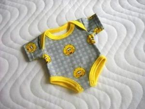 Puppenkleidung Puppenbody, Unterwäsche Body ca. 32-33 cm  - Handarbeit kaufen