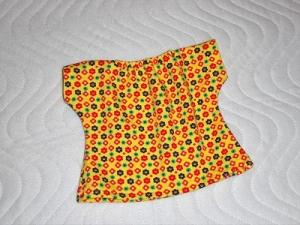 Handgemachtes Sommerkleid für Puppen ca. 36-38cm - Handarbeit kaufen