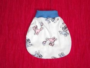 Puppenkleidung Schlafsack Strampelsack Pucksack Handgemacht ca. 17-23 cm  - Handarbeit kaufen