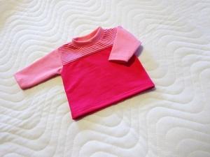 Puppenkleidung Baumwolljersey t-Shirt,  Weichkörper Puppen ca. 46-48 cm  - Handarbeit kaufen