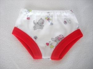 Slip, Unterhose, Panty, Unterwäsche für Weichkörperpuppen gr. 36-38 cm  - Handarbeit kaufen