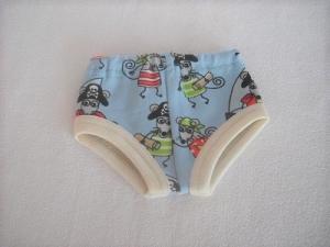 Handgemachte Unterwäsche für Puppen Slip, Unterhosen für Jungs ca. 43 cm - Handarbeit kaufen
