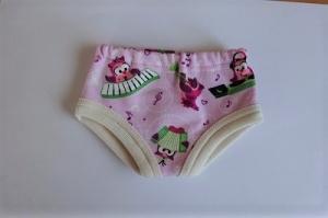 Handgemachte Unterwäsche für Puppen Slip, Unterhosen in ca. 43 cm